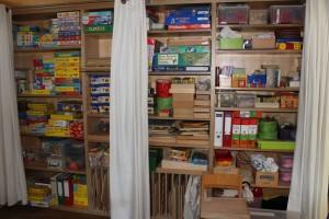 Spiele- und Materiallager