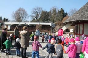 Osterspaziergang im Kinderhaus Riederau 2015