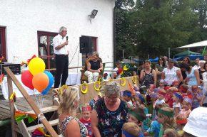 Verabschiedung Carola Garner beim Sommerfest Kinderhaus Riederau